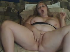 BBW Smoking Playing