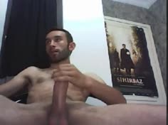 Masturbating Turkey-turkish Hunk Cana Has a Big Hard Dick
