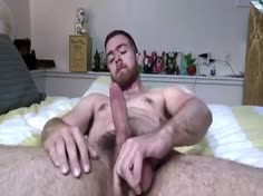 Str8 Guy Horny in Bed