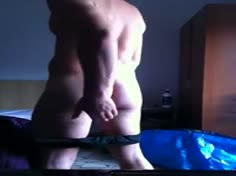 Very Sexy Hairy Guy with Big Cock and Bubble Ass