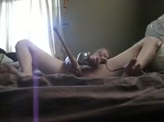 College Teen Bat Squirt Orgasm