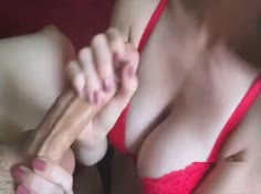 Handjob Goddess Gives The Hottest Handjob