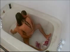 Hot Amateur Couple Has Sex in the Bathroom