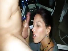 Girl Blows Boyfriend's Friend at Pool Party