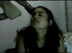 llenando de leche a mi novia mexicana