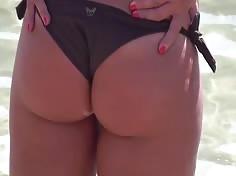 Blonde Hot Bikini Butt