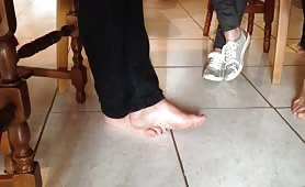 Milf candid feet and soles