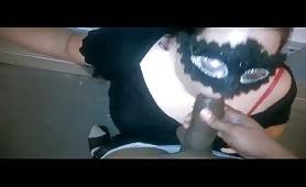 Masked BBW