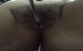 Tool insertion, both holes