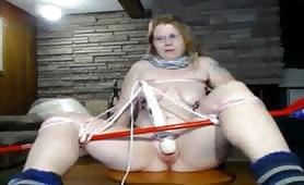 Weird BDSM WANK Girl