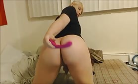 Trans Girl Plays with Her Vibrator