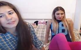 Long Hair Hair Lesbians Small Tits