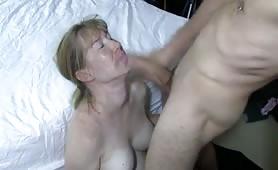 Hot Wife Sucks Bull While Hubby Films