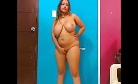 Latina BBW on Cam