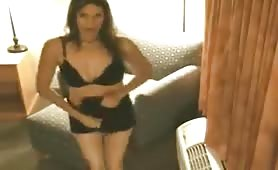 Hot 40 year Old striptease
