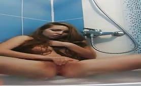 Bubble Bath Masturbation