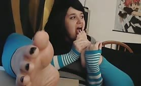 Cute Fat Teen Feet