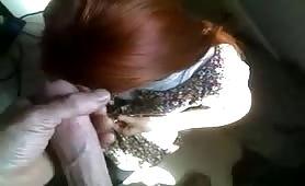Young Redhead - POV Blowjob