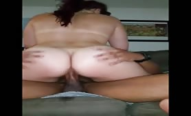 Sensual BBW Ride Black and Full Orgasm Squirting