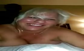Blonde Chubby MILF Pounded by Black Cock