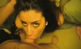 Hot GF Deep-throats Cock