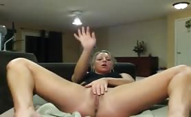Big White Booty get Dildo Fucked from Behind