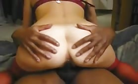Tanned Cuckold Wife Riding BBC