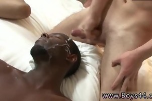 Hot young BF spanking gay porn From Jail to cum